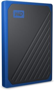 WD My Passport Go Portable 500 GB SSD kobaltrand